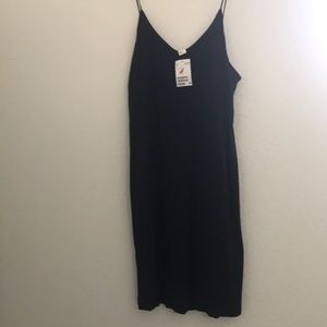 H&M Navy slip dress size large
